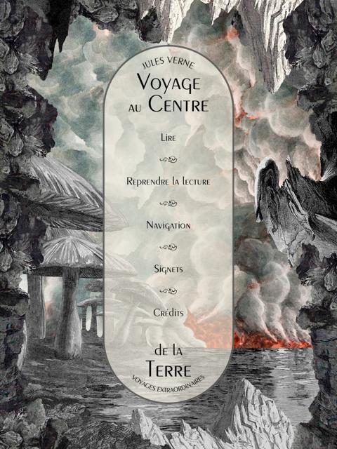 book app in francese storia interattiva per viaggiare al centro della terra
