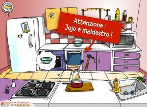 bimbi in cucina gioco, app gioco appicadabra