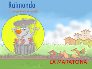 gara di corsa fra cani, filastrocca per bambini, libro digitale interattivo