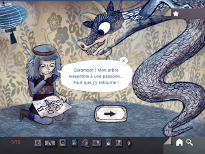 i mostri di sendak, app gioco con drago mostro e fantasmi
