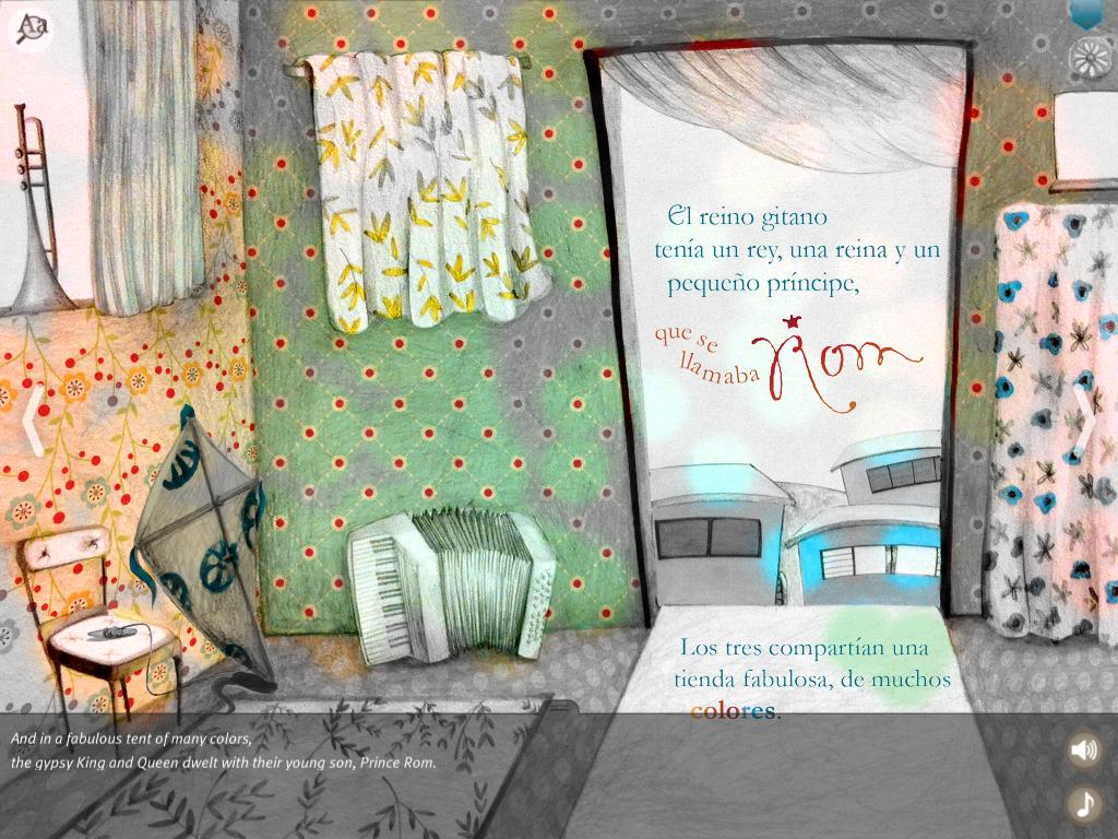 la tenda gitana, storia gitana interattiva per bambini, nel paese che ha smesso di sognare