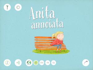 anita annoiata lodovica cima silvia baroncelli, app interattiva multilingue, editoria digitale