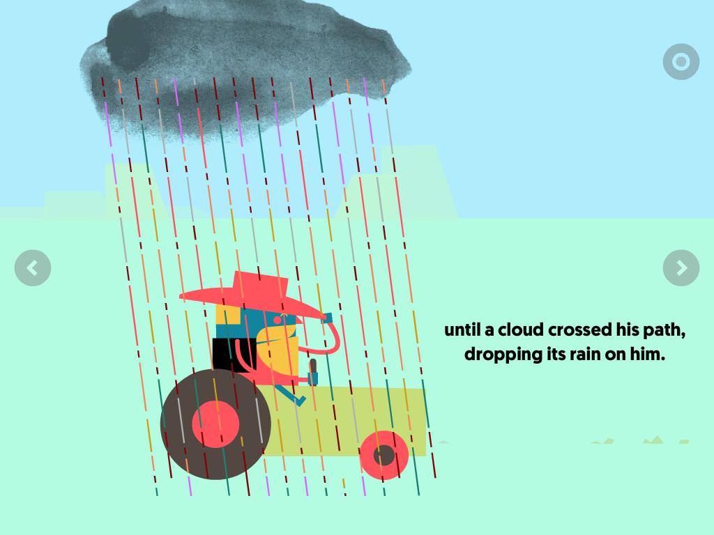 illustrazioni per bambini nelle app e ebook per bambini, le figure delle app