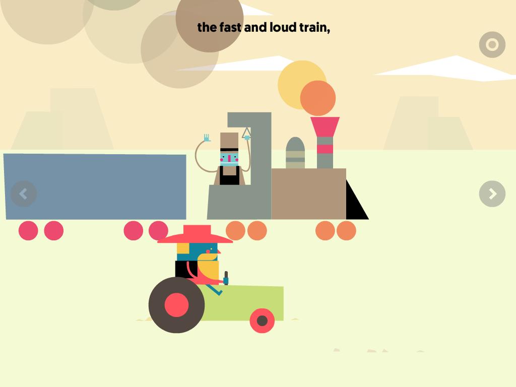 alvin superato dal treno, app interattiva per bambini, recensioni di app di qualità