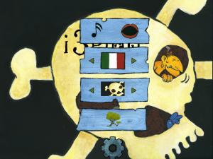 book app interattiva in 5 lingue per bambini