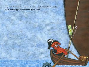 pirati nemici amici avventura tesoro