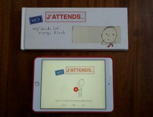 Moi, J'attends... Davide Calì e Serge Block cartaceo e app interattiva
