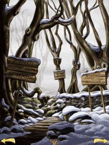 il bosco magico e pauroso della donnola cattiva