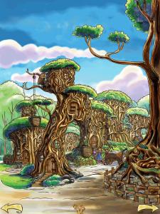 carrucole nel bosco magico della contea, bookapp
